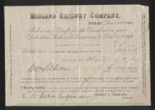 collectible old Railway receipts etc from 1893 * MUST SEE * #049
